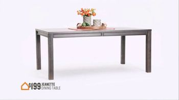Ashley HomeStore Stars and Stripes Sale TV Spot, '4th of July Doorbusters: Sofa and Dining Table' - Thumbnail 6