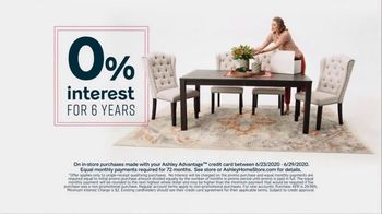 Ashley HomeStore Stars and Stripes Sale TV Spot, '4th of July Doorbusters: Sofa and Dining Table' - Thumbnail 8