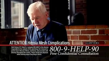 Langdon & Emison Attorneys at Law TV Spot, 'Attention: Hernia Mesh Complications'