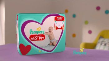 Pampers Cruisers 360 Degree Fit TV Spot, 'Pampers Cruisers 360' Song by Steppenwolf - Thumbnail 3
