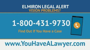 Saiontz & Kirk, P.A. TV Spot, 'Elmiron Legal Alert: Vision Loss and Retinal Damage'