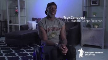 Paralyzed Veterans of America TV Spot, 'Troy Conquest: We Keep Getting Up' - Thumbnail 3
