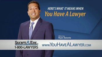 Saiontz & Kirk, P.A. TV Spot, 'Meaning: Getting Better' - Thumbnail 2