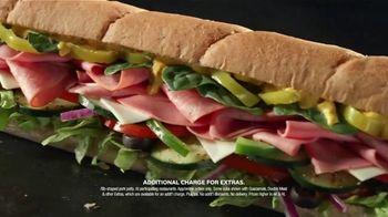 Subway $5 Footlongs TV Spot, 'When You Buy Two: BBQ Rib' - Thumbnail 6