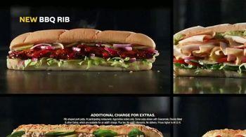 Subway $5 Footlongs TV Spot, 'When You Buy Two: BBQ Rib' - Thumbnail 7