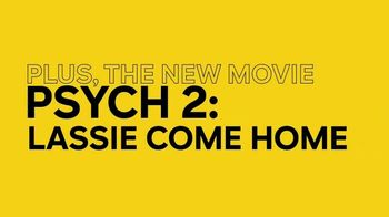 Peacock TV TV Spot, 'Psych and Psych 2: Lassie Come Home' - Thumbnail 6