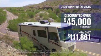 La Mesa RV TV Spot, 'Discounted: 2020 Winnebago Vista' - Thumbnail 4
