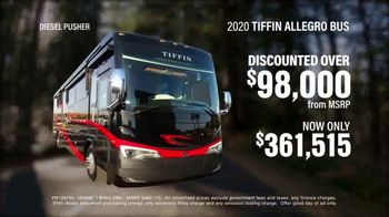 La Mesa RV TV Spot, 'Think: 2020 Tiffin Allegro Bus' - Thumbnail 4