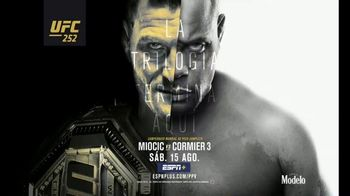 ESPN+ TV Spot, 'UFC 252: Miocic vs. Cormier' [Spanish]