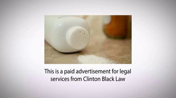 Clinton C. Black LLC TV Spot, 'Talcum Cancer Legal Helpline' - Thumbnail 1