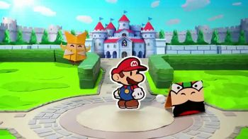 Paper Mario: The Origami King TV Spot, 'Put the World Back in One Crease'