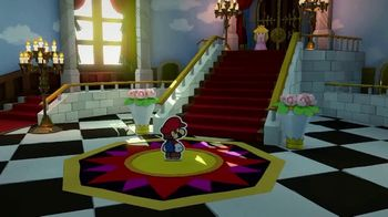 Paper Mario: The Origami King TV Spot, 'Put the World Back in One Crease' - Thumbnail 4
