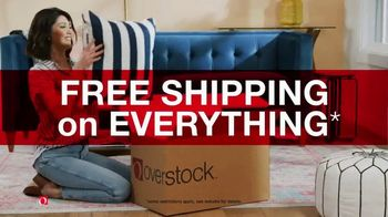 Overstock.com Annual Clearance Event TV Spot, 'Free Shipping on Everything'