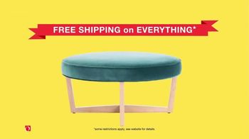 Overstock.com Annual Clearance Event TV Spot, 'Free Shipping on Everything' - Thumbnail 7
