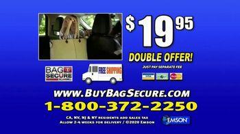 Bell + Howell Bag Secure TV Spot, 'Sudden Stop' - Thumbnail 10