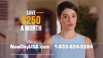 NewDay USA TV Spot, \'Lower Your Mortgage Payments\'