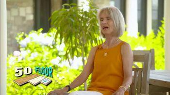 50 Floor TV Spot, 'Refresh Your Home' - Thumbnail 2