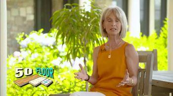 50 Floor TV Spot, 'Refresh Your Home' - Thumbnail 3