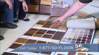 50 Floor TV Spot, 'Refresh Your Home' - Thumbnail 4