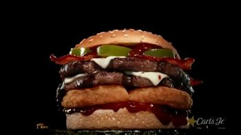 Carl's Jr. Spicy Western Bacon Cheeseburger TV Spot, 'Western Gone Spicy: 2 for $6'
