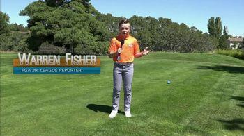 PGA Junior League Golf TV Spot, 'Warren Fisher, Teen Reporter' Feat. Steph Curry, Rickie Fowler