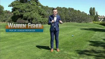 PGA Junior League Golf TV Spot, 'Warren Fisher, Teen Reporter' Feat. Steph Curry, Rickie Fowler - Thumbnail 1