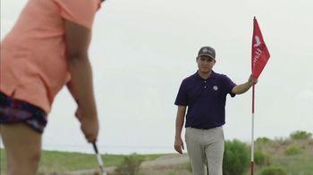 PGA Junior League Golf TV Spot, 'Warren Fisher, Teen Reporter' Feat. Steph Curry, Rickie Fowler - Thumbnail 5