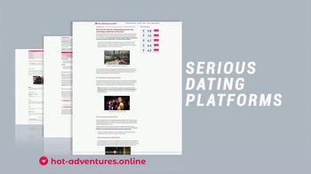hot-adventures.com TV Spot, 'Serious Dating Platforms' - Thumbnail 5
