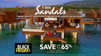 Sandals Resorts Black Friday in July TV Spot, 'Love is All You Need: $500 Spa Credit' - Thumbnail 10