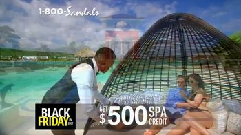 Sandals Resorts Black Friday in July TV Spot, 'Love is All You Need: $500 Spa Credit' - Thumbnail 4