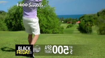 Sandals Resorts Black Friday in July TV Spot, 'Love is All You Need: $500 Spa Credit' - Thumbnail 5