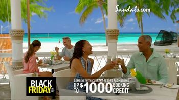 Sandals Resorts Black Friday in July TV Spot, 'Love is All You Need: $500 Spa Credit' - Thumbnail 6