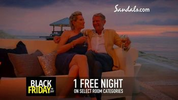 Sandals Resorts Black Friday in July TV Spot, 'Love is All You Need: $500 Spa Credit' - Thumbnail 8