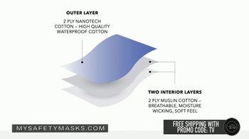 My Safety Masks 3-Layer Nano Mask TV Spot, 'Opens Back Up' - Thumbnail 4