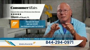 Endurance Direct TV Spot, 'A Way to Save Thousands: Glenn' - Thumbnail 6
