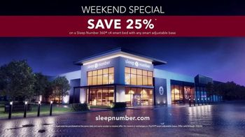 Sleep Number Weekend Special TV Spot, 'Save 25 Percent' - Thumbnail 9