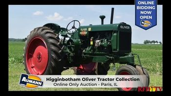 Aumann Vintage Power TV Spot, 'Higginbotham Oliver Tractor Collection'