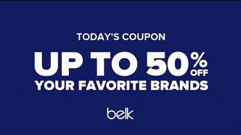 Belk TV Spot, 'Saving Made Simple: Daily Deals: 50%' Song by Caribou - Thumbnail 8