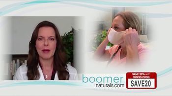 Boomer Naturals Multi-Use Protective Face Masks TV Spot, 'Dr. Mary Clifton: Three Layers' - Thumbnail 3