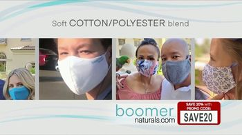 Boomer Naturals Multi-Use Protective Face Masks TV Spot, 'Dr. Mary Clifton: Three Layers' - Thumbnail 5