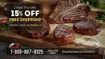 Kansas City Steak Company Sizzle Summer Sale TV Spot, 'What You Really Want' - Thumbnail 7