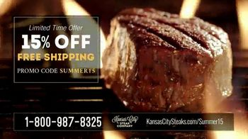 Kansas City Steak Company Sizzle Summer Sale TV Spot, 'What You Really Want' - Thumbnail 6