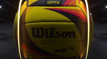 Wilson AVP OPTX Game Volleyball TV Spot, 'See the Game like Never Before' - Thumbnail 4