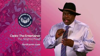 Ford Warriors in Pink TV Spot, 'Good Neighbor' Featuring Cedric the Entertainer - 3 commercial airings