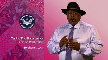 Ford Warriors in Pink TV Spot, 'Good Neighbor' Featuring Cedric the Entertainer - Thumbnail 4