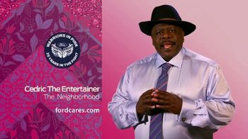 Ford Warriors in Pink TV Spot, 'Good Neighbor' Featuring Cedric the Entertainer - Thumbnail 5