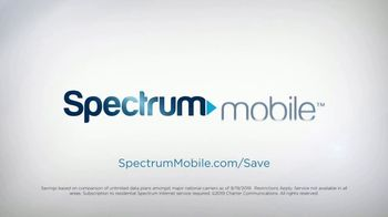 Spectrum Mobile TV Spot, 'Easy to Save: Mix & Match and Savings Calculator' - Thumbnail 6