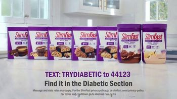 SlimFast Diabetic Weight Loss TV Spot, 'Manage Carbs and Sugar' - Thumbnail 9