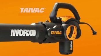 Worx Trivac TV Spot, 'The New Lightweight Blower' - Thumbnail 2