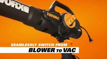 Worx Trivac TV Spot, 'The New Lightweight Blower' - Thumbnail 7